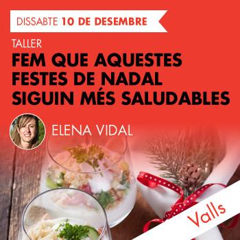 banner Fem que aquestes festes de Nadal siguin més saludables. Valls.