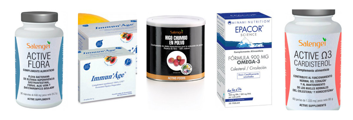 Complementos nutricionales de Salengei