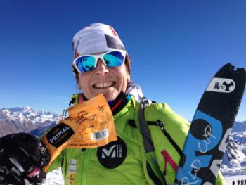 Marta Riba, guanyadora de la Copa del Món d'Esquí de Muntanya de llarga distància